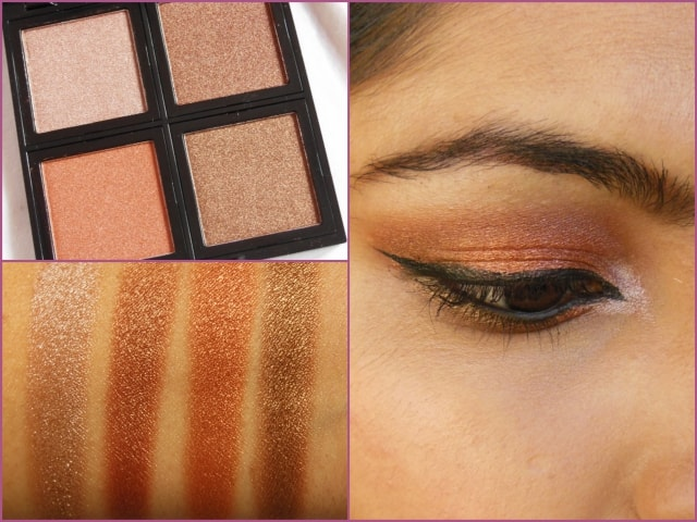 Sedona Lace The Babe Collection Eye Shadow Palette Suzzane Look