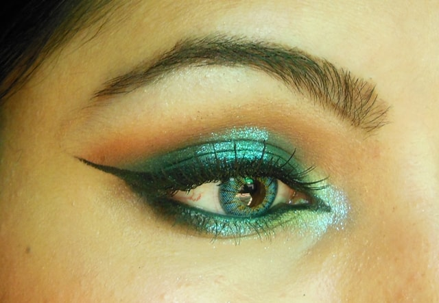 Shimmery Blue Eyes EOTD 1