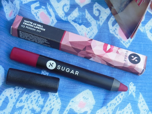 Sugar Matte As Hell Crayon Lipstick Poison Ivy  Packaging