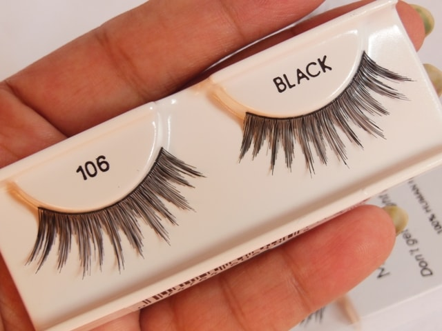 Ardell Glamour 106 False Eye Lashes Review
