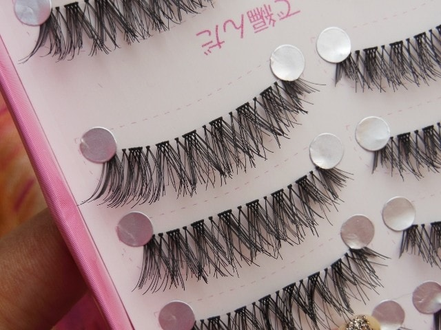 BornPrettyStore Makeup- Eyelashes Review