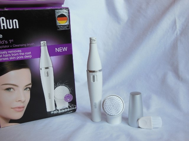 how to use epilator on face