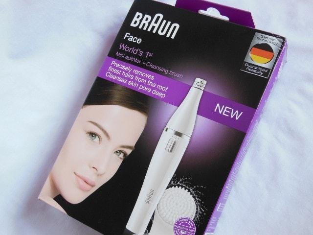 Braun Face Mini Epilator with Cleansing Brush