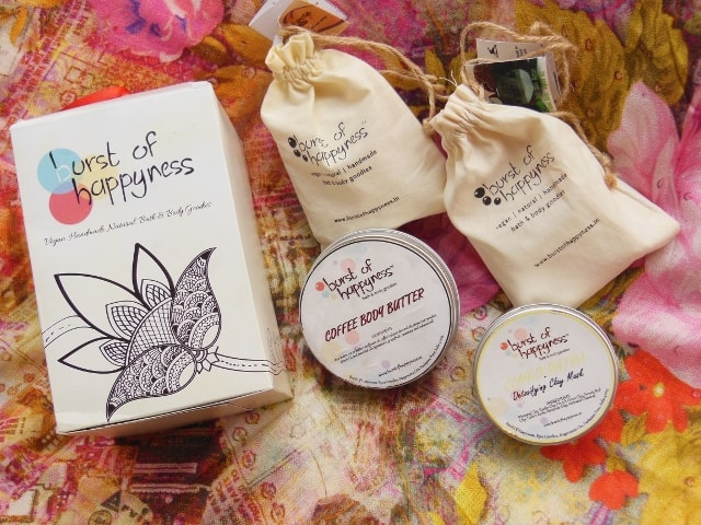 Burst Of Happiness Goodies - Mask, Body Butter and Soaps