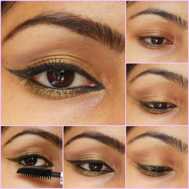 Eye Makeup Tutorial - Easy Golden Eyes