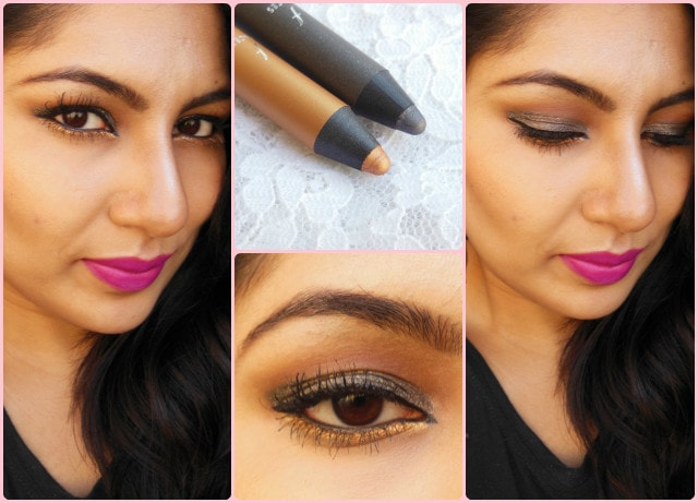 Faces Ultime Pro Eye Shadow Crayon Night Fever and Dancing Queen FOTD