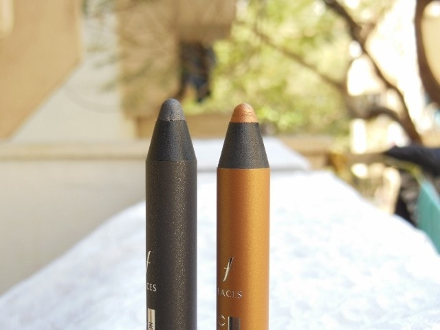 Faces Ultime Pro Eye Shadow Crayon in Dancing Queen and Night Fever Revew