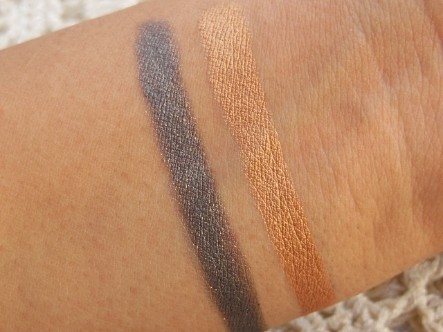 Faces Ultime Pro Eye Shadow Crayons in Night Fever and Dancing Queen Swatch2