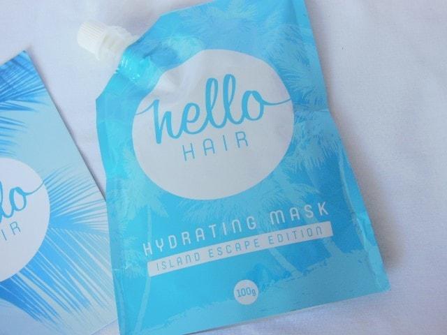 Hello Hair Hydrating Mask Islnd Escape Edition