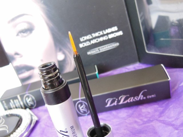 LiLash Demi Purified Lash Serum packaging