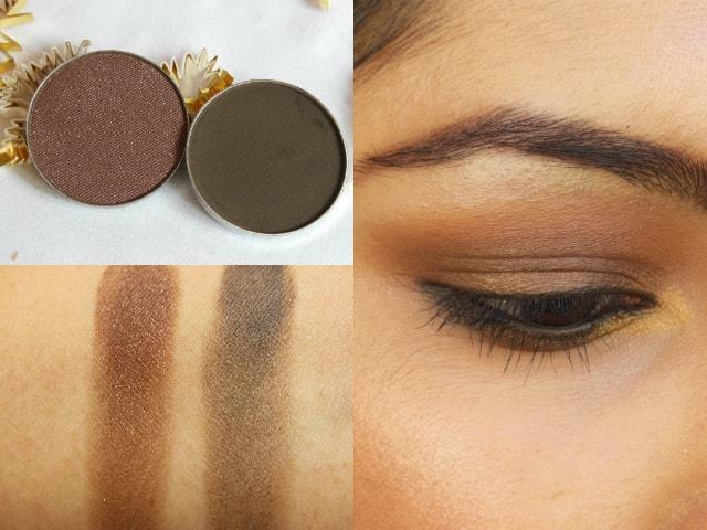 Luxie Beauty Dark Brown Eye Shadow 302, 104 Look