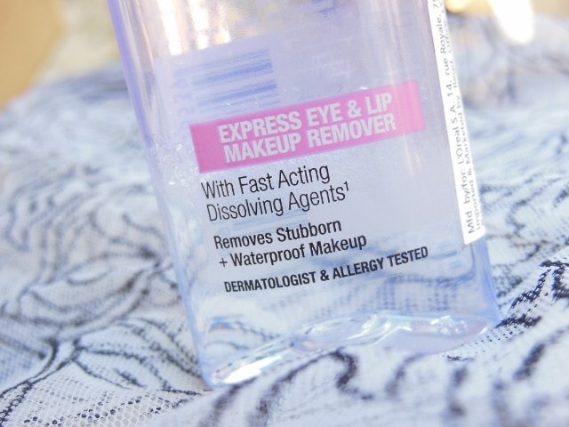 Maybelline Clean Express Total Clean Makeup Remover Claims