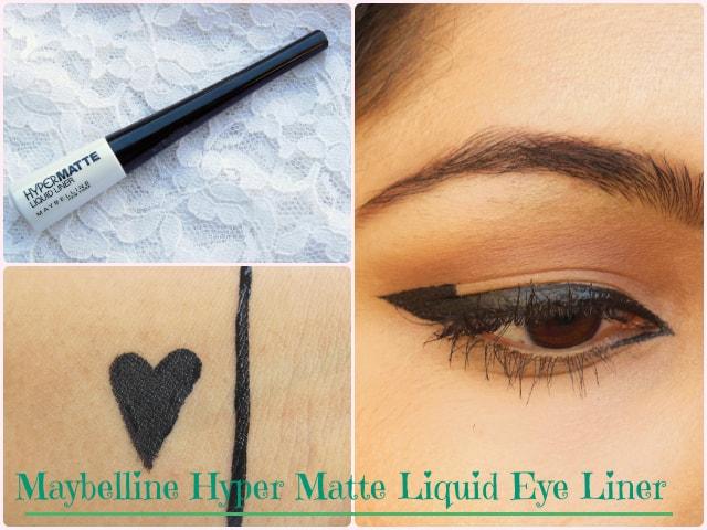 Line Art Matte Eyeliner : Is it matte enough: maybelline hypermatte liquid eye liner black