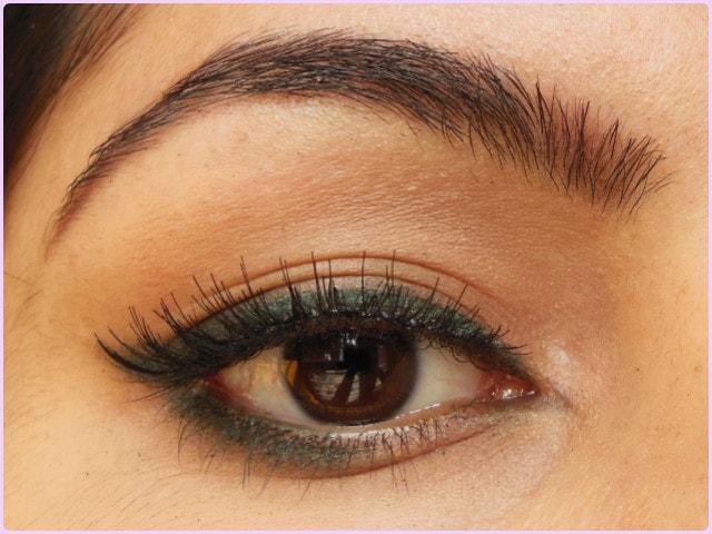 BornPrettyStore Makeup- Criss Cross Eyelashes EOTD
