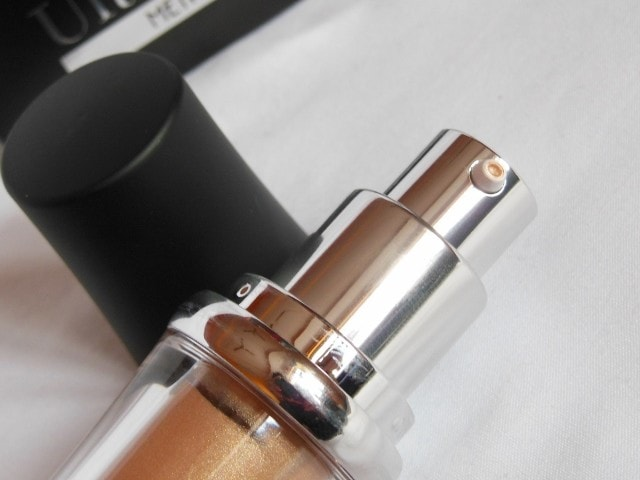 Faces Ultime Pro MetaliGlow Champagne Packaging