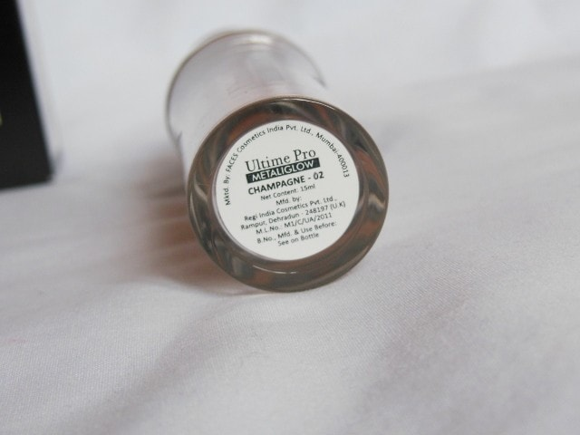 Faces Ultime Pro MetaliGlow Champagne SHade