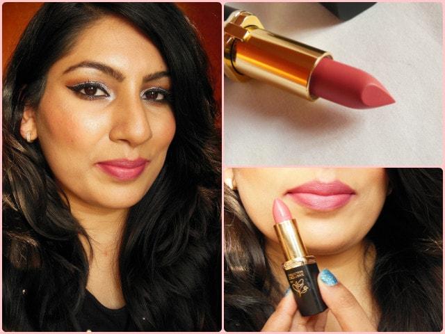 Loreal Paris La Vie En Collection - Moist Mat Lipsticks- Eva look
