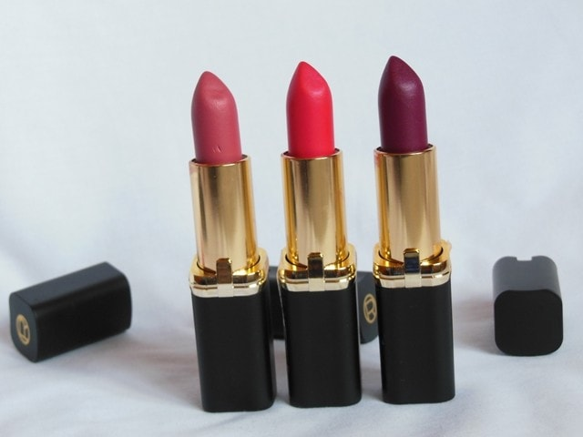 Loreal Paris La Vie En Collection - Moist Mat Lipsticks Review