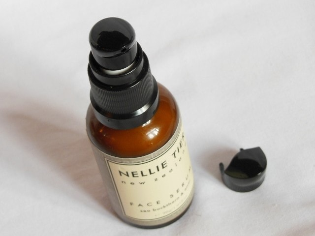 Nellie Tier Face Serum Packaging
