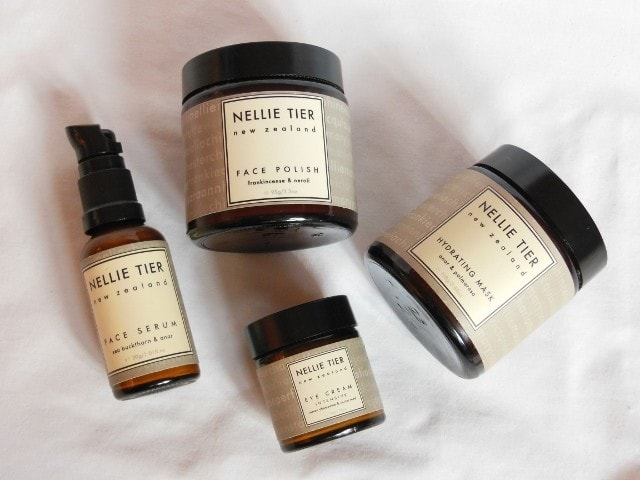 Nellie Tier Skincare Products