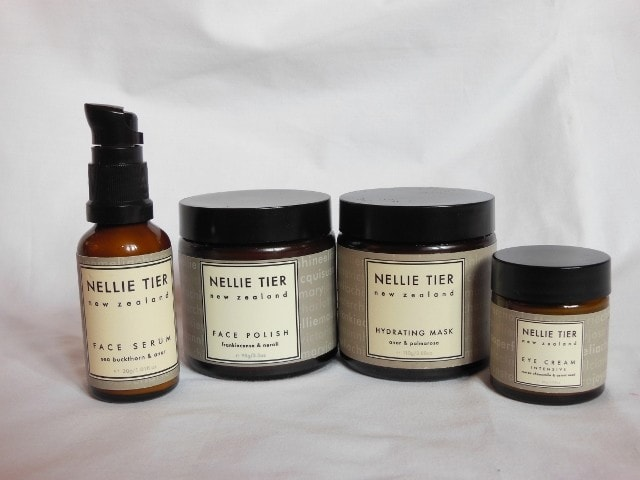 Nellie Tier Skincare care from New Zealand