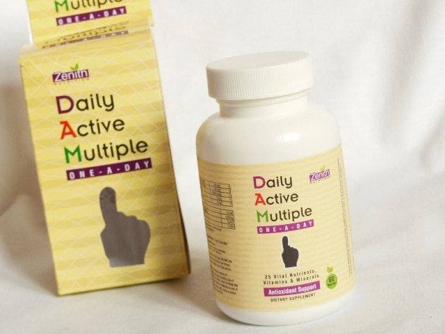 Zenith Nutrition Daily Active Multiple One A Day