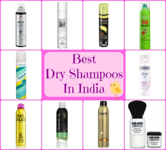 Best Dry Shampoos In India