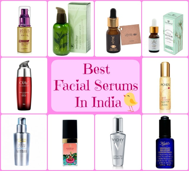 10 Best Facial Serums In India with Prices