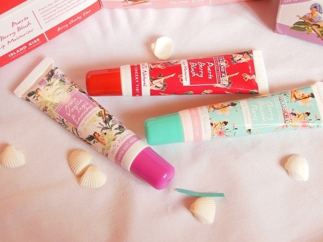 Island Kiss Lip Moisturizers Review