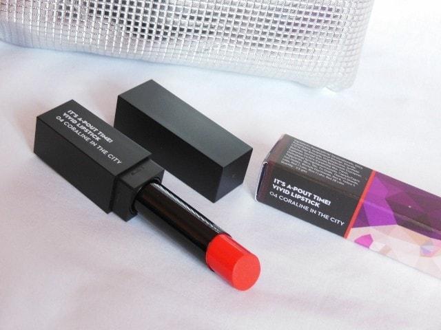 March Fab Bag - Sugar Cosmetics Vivid Matte Coraline in The City Lipstick