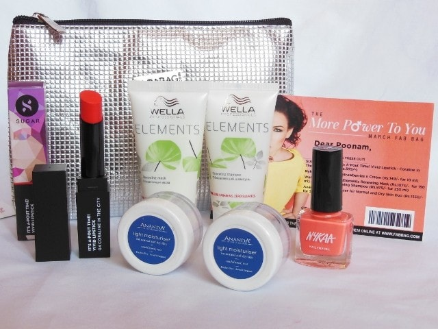 More Power to you - March Fab Bag 2016 Review