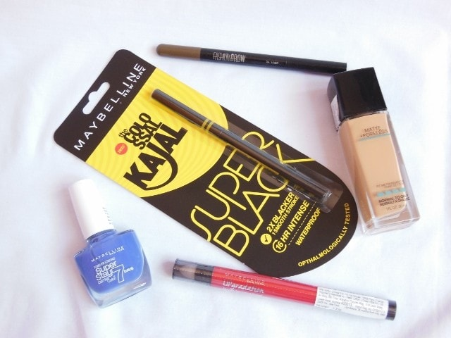 New Launches from Maybelline 2016
