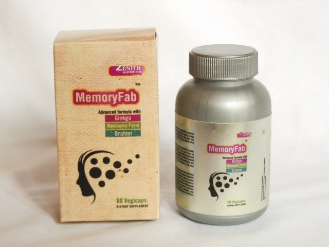 Zenith Nutrition Memory Fab Capsules