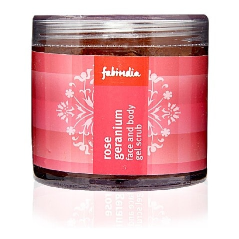 Fabindia Rose and Geranium Body Scrub