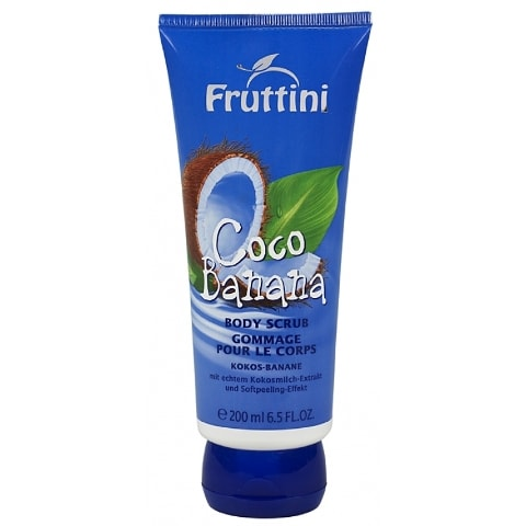 Fruttini coco banana body scrub