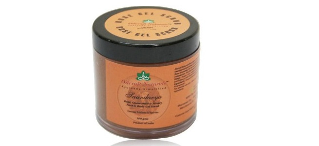 Oilcraft rose face body gel scrub