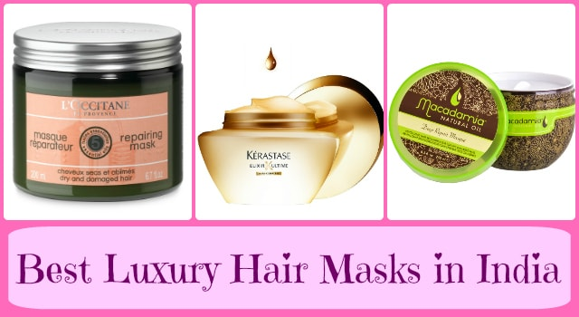 Best Luxury Hair Masks in India