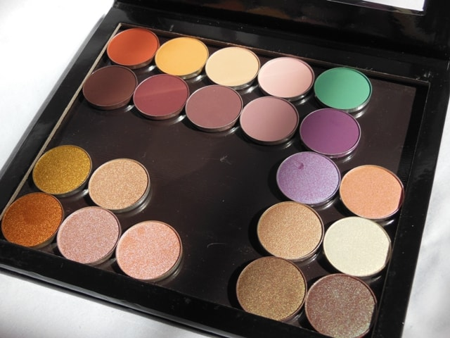 Dupe of Z Palette - PAC Cosmetics Empty Magnet Palette