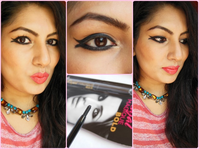 L'oreal Paris Kajal Magique Bold Makeup Look