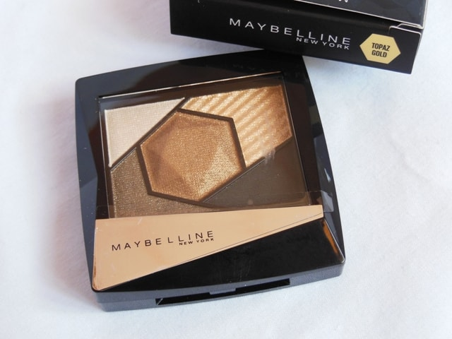 Maybelline Color Sensational Eye Shadow Palette Topaz Gold Review