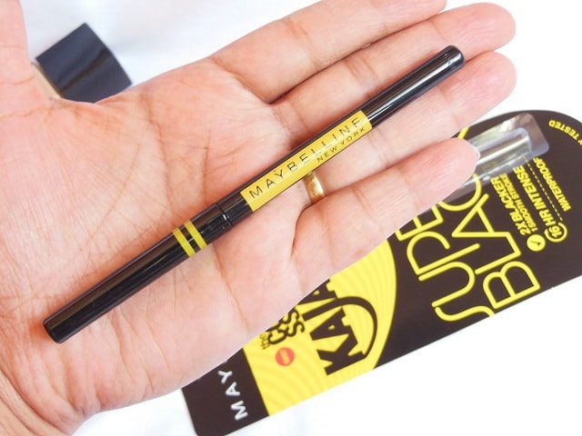 Maybelline Colossal Kajal Super Black Packaging