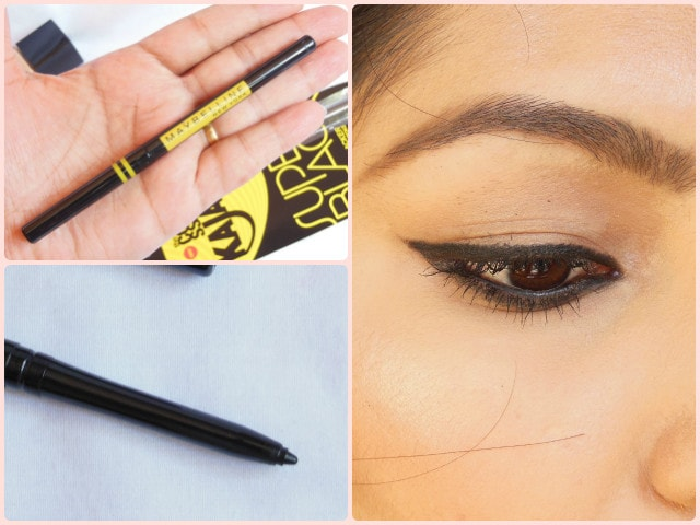Maybelline the Colossal Kajal Super Black Look