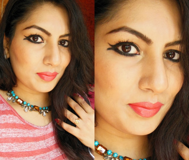 Maybelline the Magnum Barbie Water proof Mascara FOTD