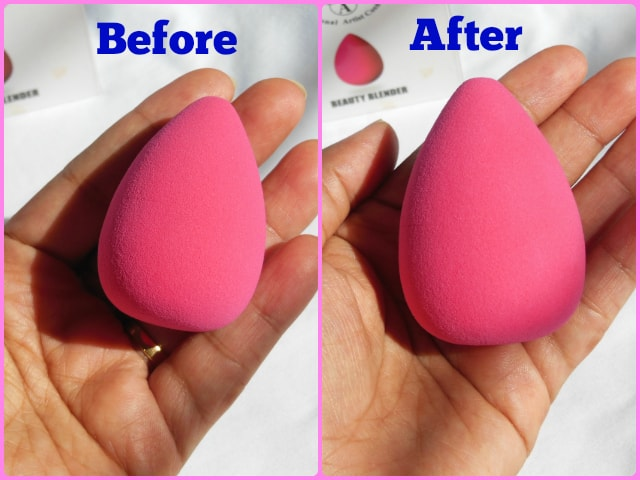 PAC Cosmetics Beauty Sponge Pink Dry and Wet