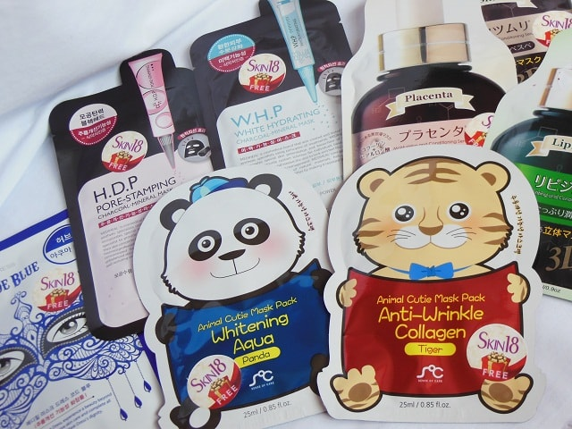 Skin18.com Cute Face Mask sheets