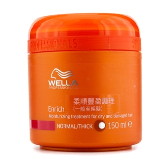 Wella Professionals Enrich Moisturizing Treatment For Dry & Damaged Hair