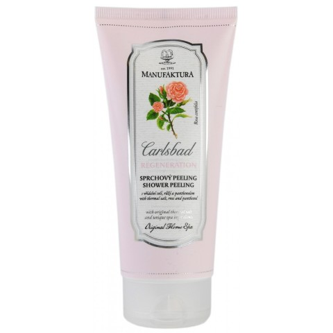 Best Body Scrubs for Dry Skin in India -Manufaktura Romantic Rose Spa and Thermal Salt Softening Shower Scrub