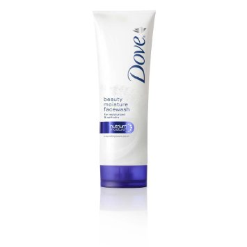 Best Face Washes for Dry Skin India -Dove Nutrium Moisture face Wash