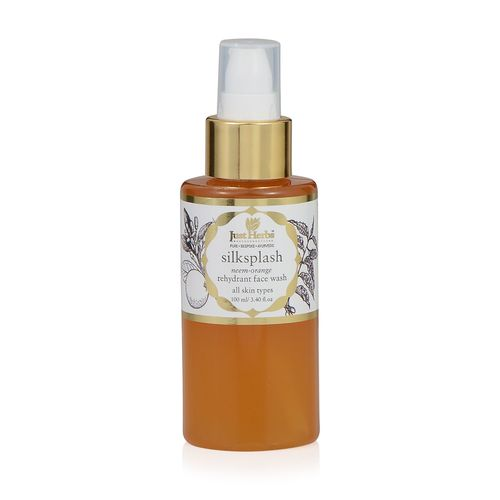 Best Face Washes for Dry Skin India- Just Herbs Silk Splash Face Wasg
