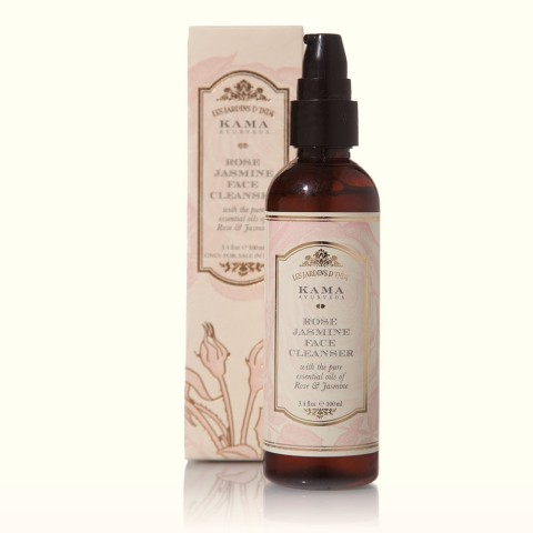 Best Face Washes for Dry Skin India - Kama Ayurveda Rose Jasmine Facial Cleanser